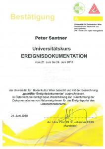 ZertifikatUnikursEreignisdokumentation