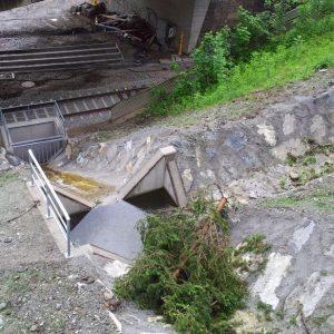 Erneuerung Gerinneverbauung Graben Untersteintunnel I