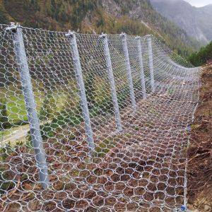 Lawinenschutzverbauung Wiesenegglawine