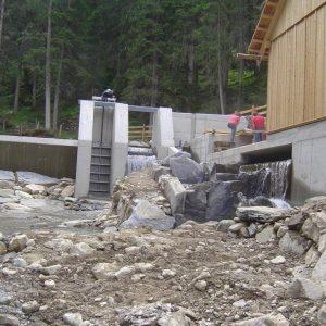 Kleinwasserkraftanlage Fuchsberger