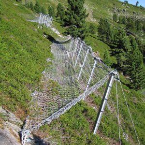 Sicherheitsanalyse Lawinengefahr und Detailprojekt Anbruchverbauung für Seilbahn 6 SBK Zirbenjet