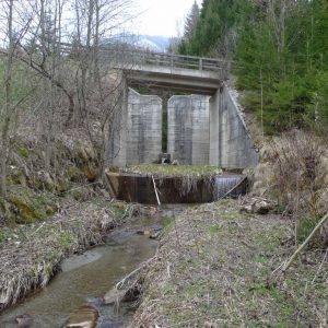 Wildbachverbauung Kendlhofgraben, Kuchllehenbach und Steinbach