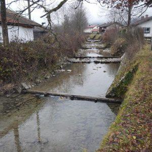 Hochwasserschutz Weißache