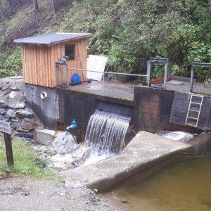Kleinwasserkraftwerk Friedrich