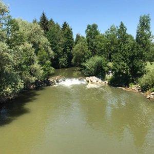 Rampe Aschach Karling Fluss-km 10,088